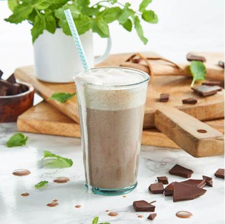 Obrázek z Čokoládovo-mátový koktejl