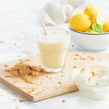 Obrázek Citronový cheesecake – koktejl